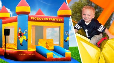 CLASSIC JUMPING CASTLE - 4m x 4m